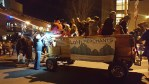 LoHi merchants hosted Clydesdale hayrides  at the Holiday Lights